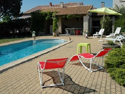 Location vacances Bessan -  Maison - 6 personnes - Barbecue - Photo N° 1
