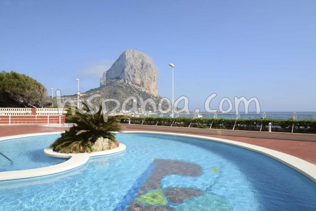 Apartment for 2 ppl. with pool, Calp