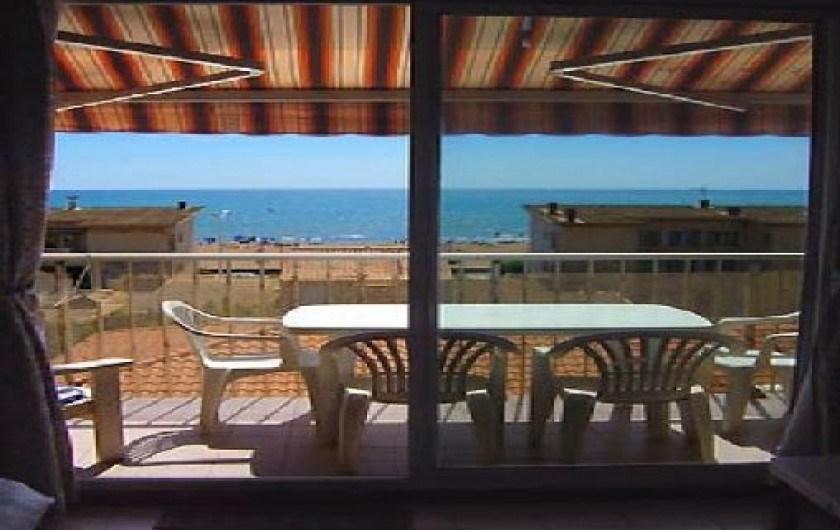 Appartement à Valras Plage dans l'Hérault en Langeudoc Roussillon à 100 mètres de la plage