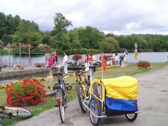 Balade à vélos sur le halage