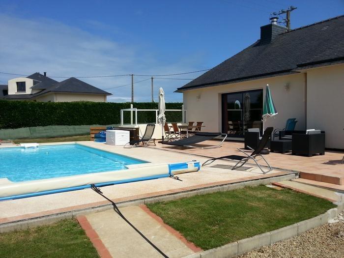 Villa pour 6 pers. avec piscine privée, Cléder