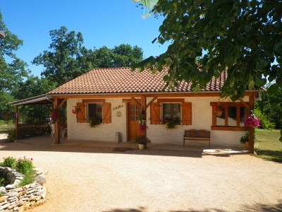 Holiday rentals Le Bastit - Cottage - 4 persons - BBQ - Photo N° 1