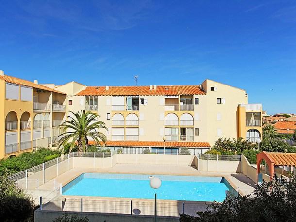 Location vacances Narbonne -  Appartement - 4 personnes - Lecteur DVD - Photo N° 1