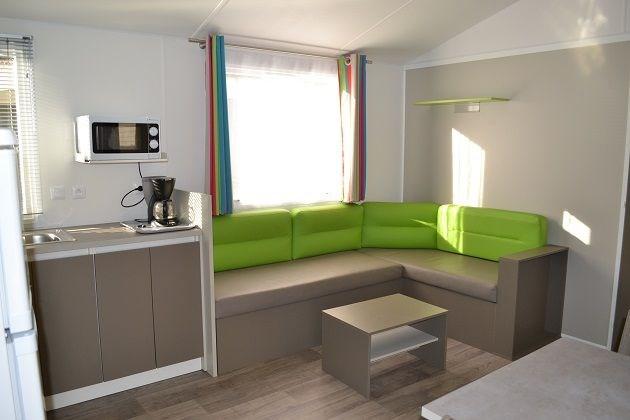 Cottage Prestige 6/8 personnes (33 m²) - Camping 4* Les Sables de Cordouan à La Palmyre (17)