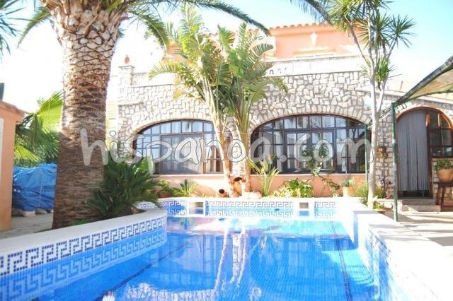 Holiday rentals l'Ametlla de Mar - House - 10 persons - BBQ - Photo N° 1