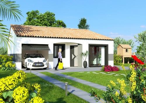Maison  3 pièces + Terrain 800 m² Lagardelle-sur-Lèze par ESQUISS 31