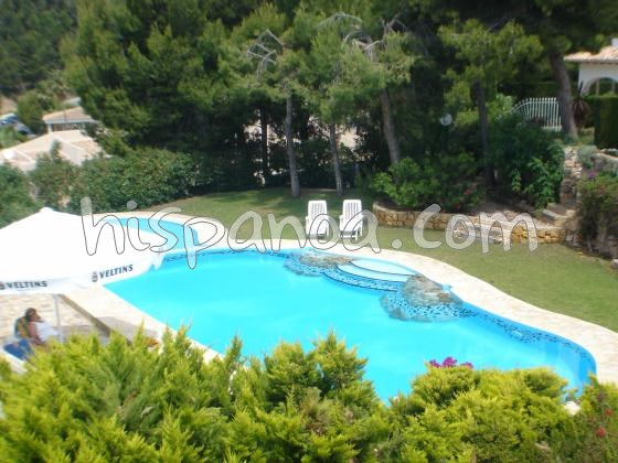 House for 4 ppl. with pool, Altea