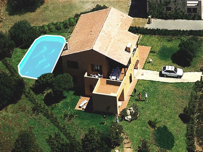Studio pour 3 pers. avec piscine, Serra-di-Ferro