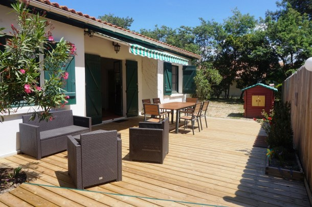 Location vacances Biscarrosse -  Maison - 6 personnes - Barbecue - Photo N° 1