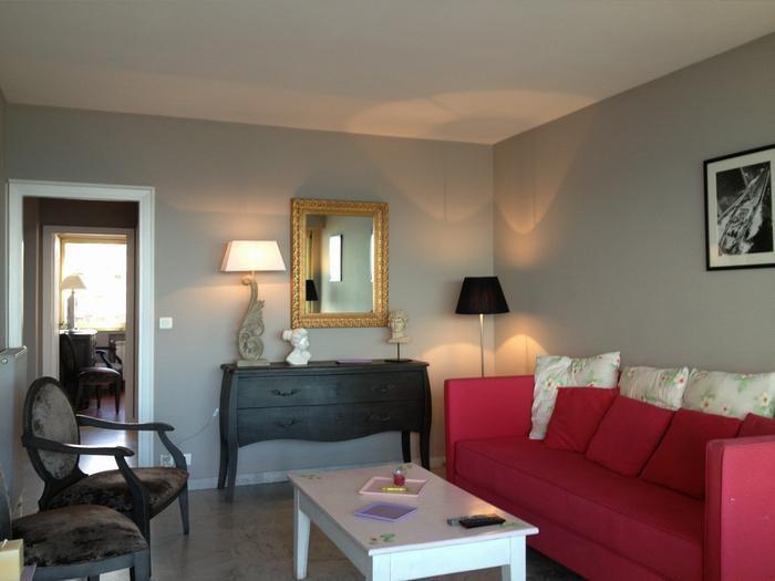 Location vacances Cagnes-sur-Mer -  Appartement - 5 personnes - Salon de jardin - Photo N° 1