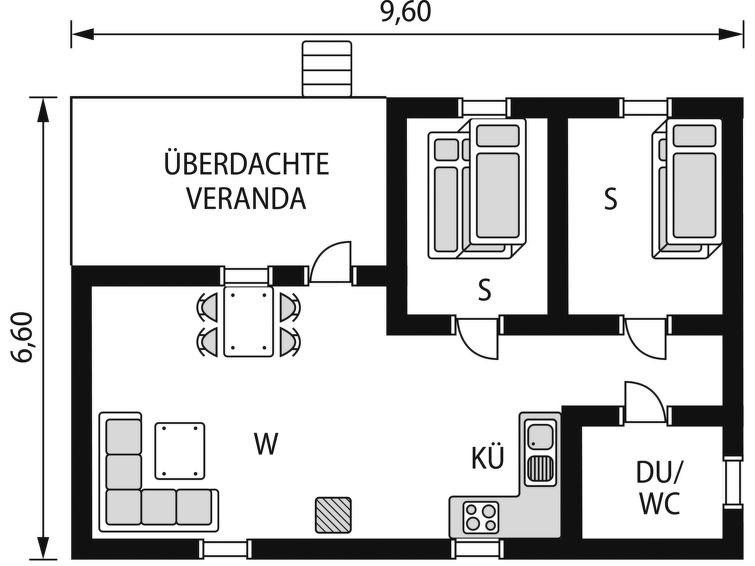 Maison pour 5 à Vemdalen