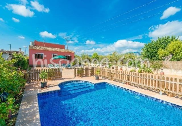 Location vacances Lloseta -  Maison - 4 personnes - Barbecue - Photo N° 1