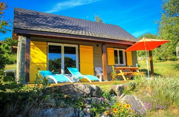 CHALETS & SPA in Alvernia - Marchal