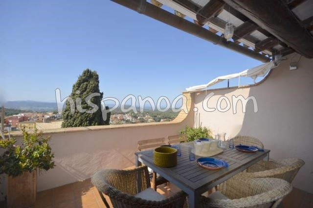 Location vacances Begur -  Appartement - 6 personnes - Salon de jardin - Photo N° 1