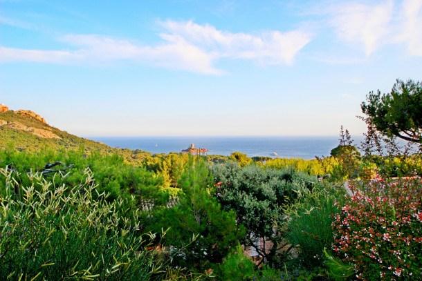 Cap Esterel Hameau : 2 pièces jardin et mer - N3 - 221la