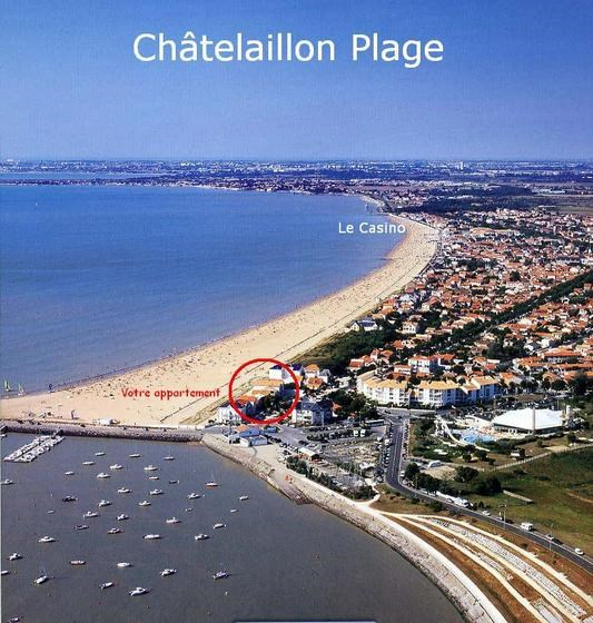 Location vacances Châtelaillon-Plage -  Appartement - 4 personnes - Barbecue - Photo N° 1