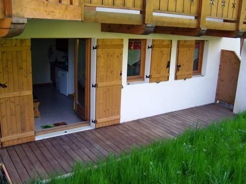 Location vacances Hauteluce -  Appartement - 5 personnes - Cour - Photo N° 1