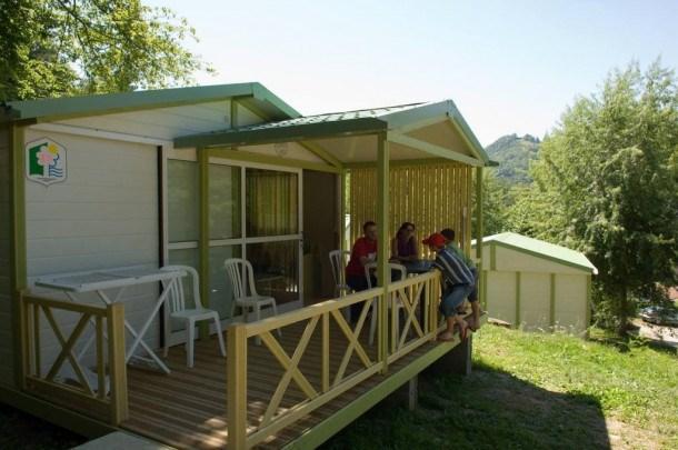 Camping PARC DE PALETES - Mobil home IRM 2 chambres