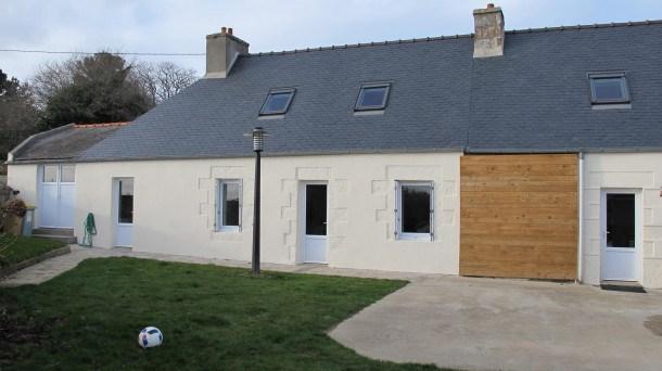 Maison bretonne rénovée, exposée plein sud avec jardin et terrasse  LANNION