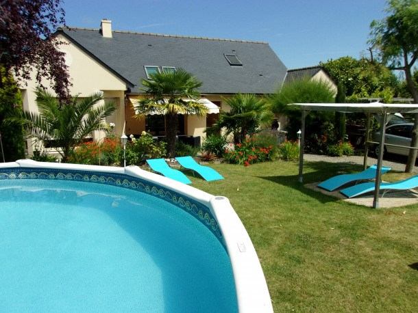 Location vacances Cancale -  Maison - 9 personnes - Barbecue - Photo N° 1