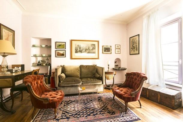 Location vacances Paris 7e Arrondissement -  Appartement - 3 personnes - Chaîne Hifi - Photo N° 1