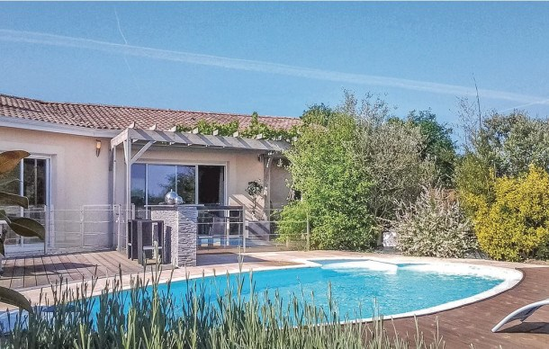 Location vacances La Roche-Chalais -  Maison - 7 personnes - Barbecue - Photo N° 1