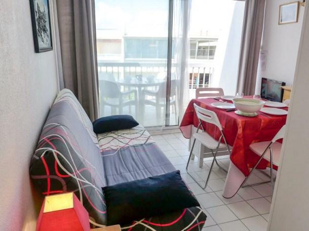 Location vacances La Grande-Motte -  Appartement - 4 personnes - Télévision - Photo N° 1