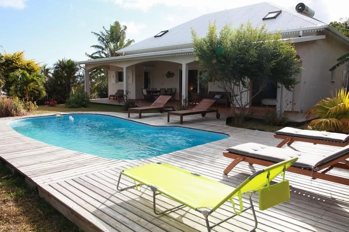 Holiday rentals Les Avirons - House - 11 persons - BBQ - Photo N° 1