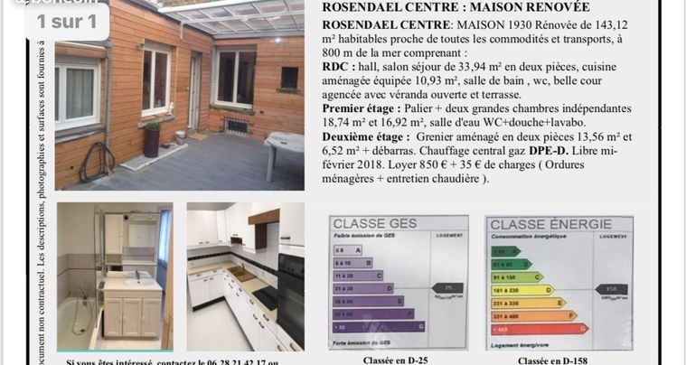 Classe Nergie Maison. Gallery Of Good Maisons With Classe Energie