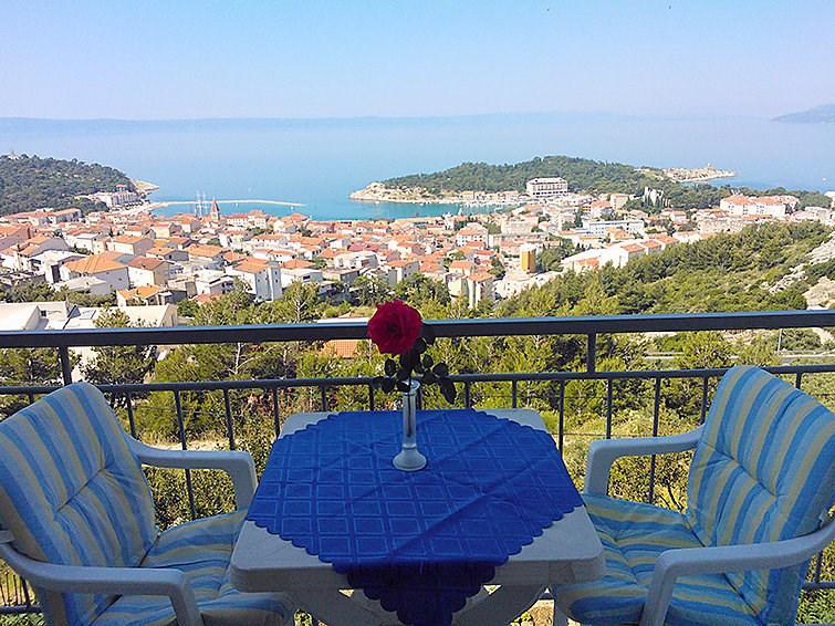 Appartement pour 4 à Makarska