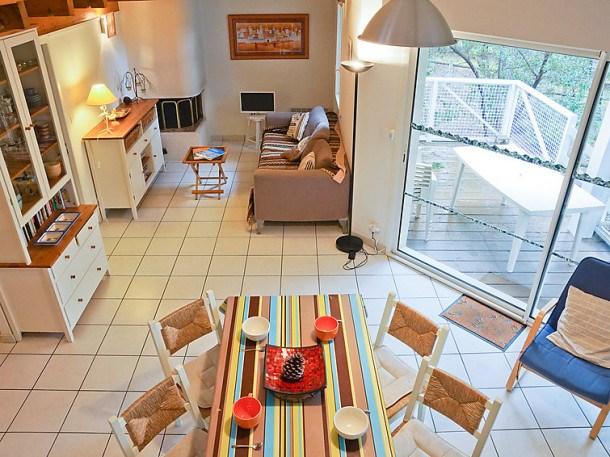 Location vacances Lacanau -  Appartement - 6 personnes - Télévision - Photo N° 1