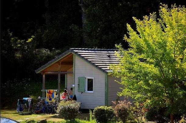Camping Les Hameaux du Perrier - Chalet 6 personnes