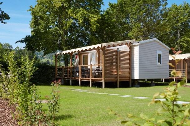 Camping de la Porte d'Arroux - Mobil-home Evo 29