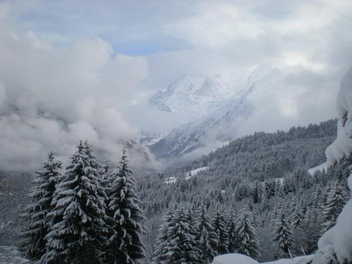 Vue Massif du Mont Blanc