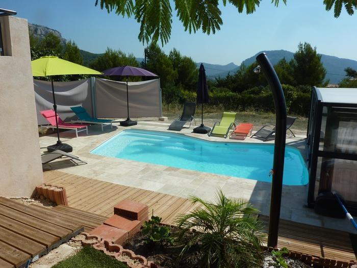 Maison de vacances ollioules en provence alpes c te d 39 azur pour 6 pers 119m - Home salon ollioules ...