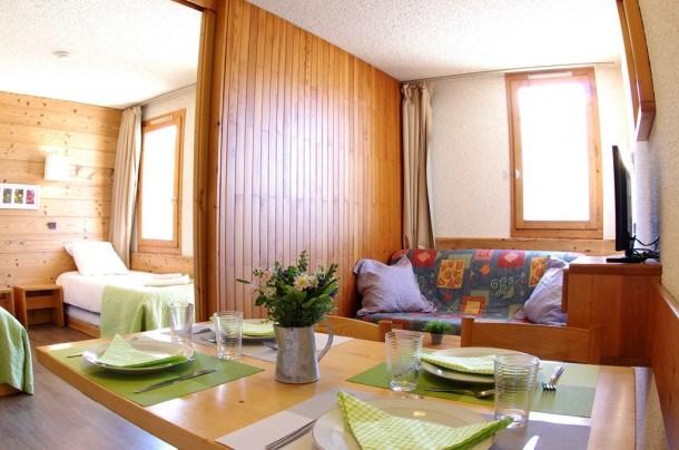 Location vacances Les Avanchers-Valmorel -  Appartement - 4 personnes - Salon - Photo N° 1