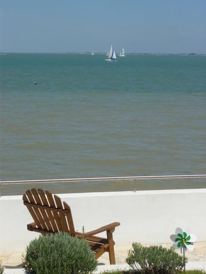 Little terrace seafront