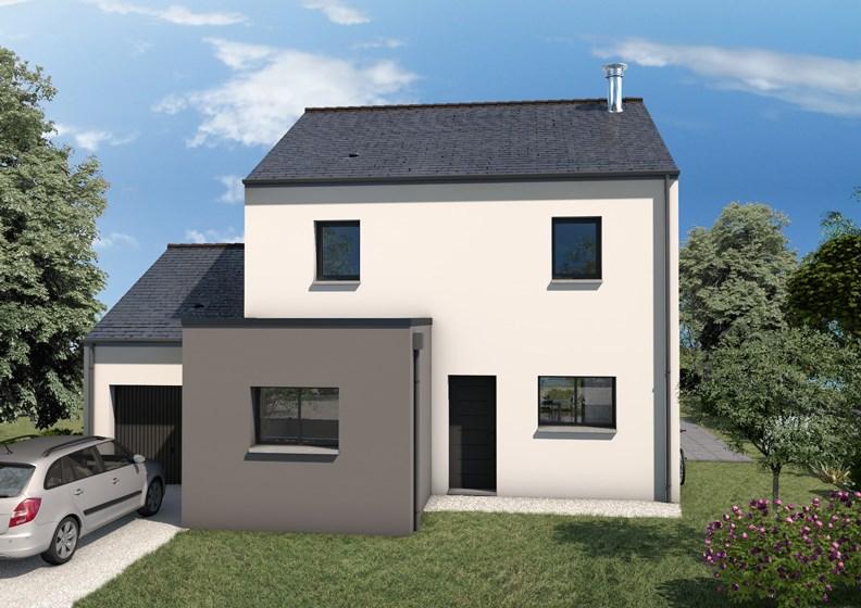 Maison  6 pièces + Terrain 485 m² Sainte-Luce-sur-Loire par ALLIANCE CONSTRUCTION NANTES
