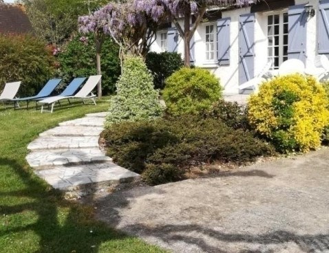 Location vacances Oisly -  Maison - 10 personnes - Barbecue - Photo N° 1
