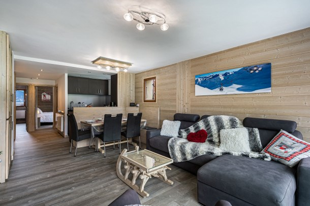 Location vacances Saint-Bon-Tarentaise -  Appartement - 7 personnes - Télévision - Photo N° 1