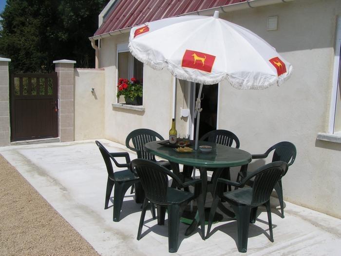 Maison pour 5 pers. avec parking privé, Longues-sur-Mer