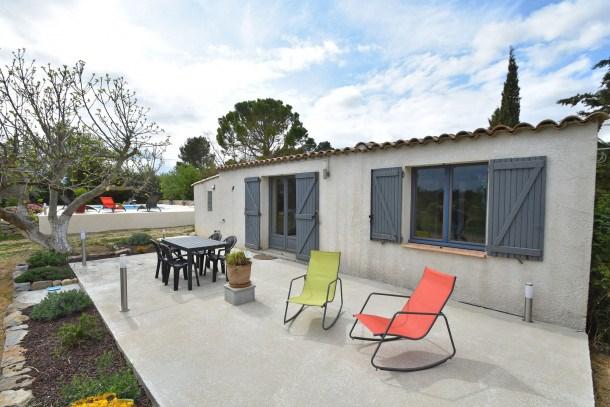 Location vacances Lézignan-Corbières -  Maison - 3 personnes - Barbecue - Photo N° 1