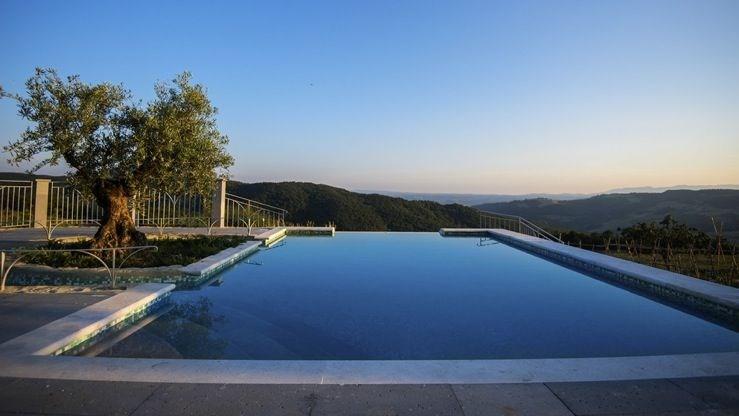 Villa Poiana est une ravissante maison de vacances, située dans le village de Trevinano, dans la région de Lazio, la ...
