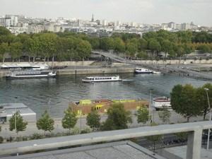 Paris 13ème. Très bel appart face à la Seine et la BNF