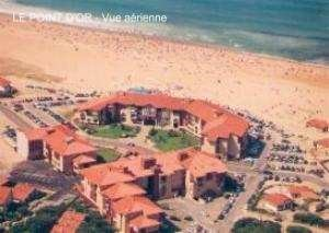 Appartement pour 6 personnes face à la plage Sud -Rés LE POINT D'OR