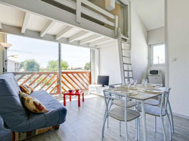 Location vacances Gujan-Mestras -  Appartement - 4 personnes - Télévision - Photo N° 1