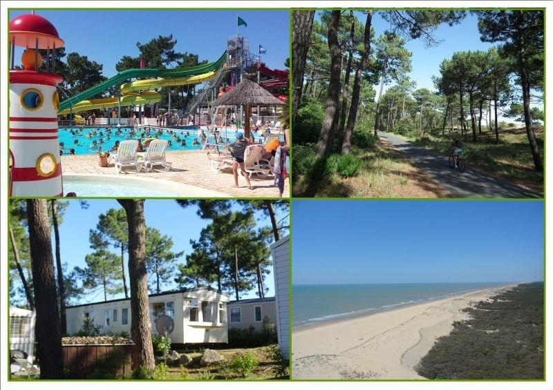 """MH confortable 6/8 pers. dans village 4*, 4 """"fun pass"""" offerts/semaine du 08/07 au 02/09"""