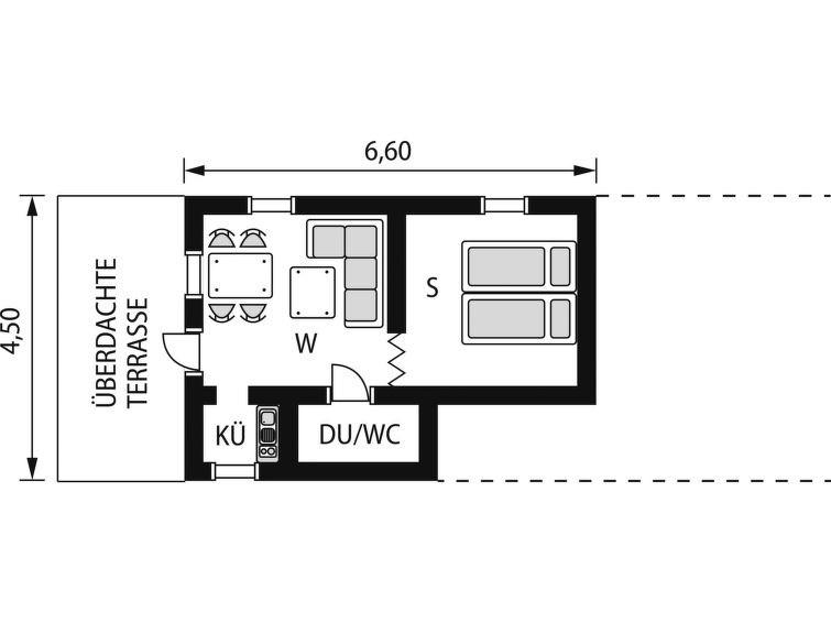 Maison pour 2 à Ankarsrum