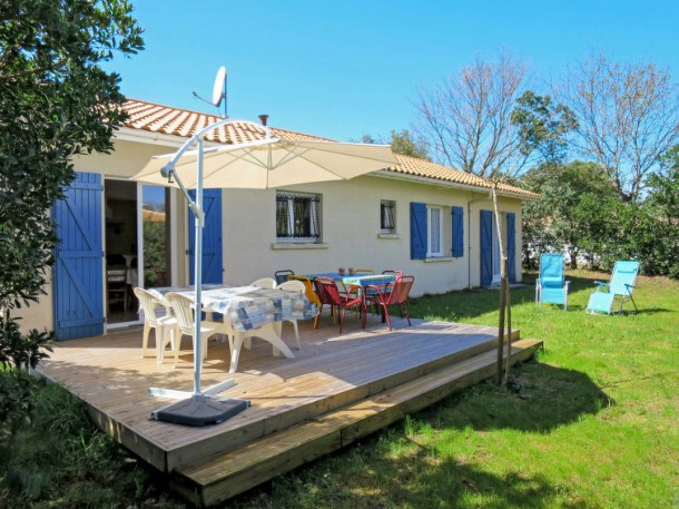 Location vacances Soulac-sur-Mer -  Maison - 7 personnes - Barbecue - Photo N° 1