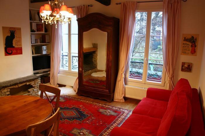 Appartement pour 4 pers. avec internet, Paris 18e Arrondissement
